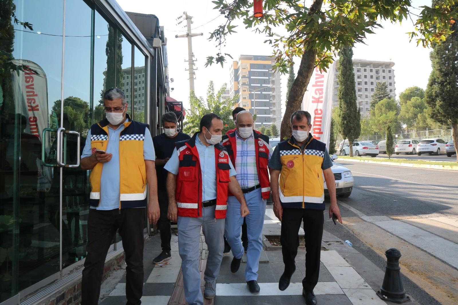 İl Sağlık Müdürü ERKUŞ ve Yöneticileri denetimlere devam etti.