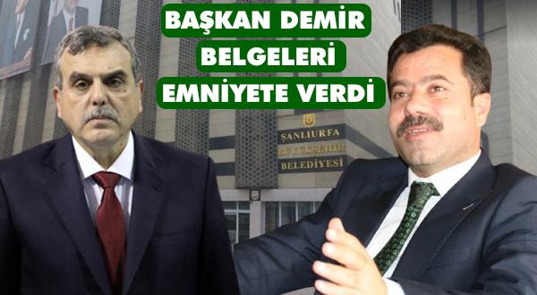 Başkan Demir: sindirme politikası uygulamayacaklar hodri meydan