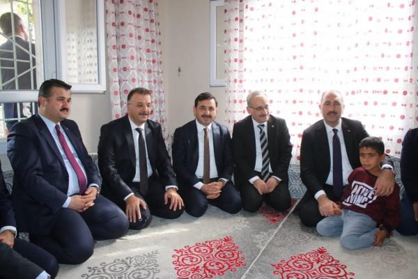 Adalet Bakanı, Elif Terim'in ailesini ziyaret etti