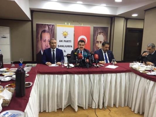 AK Parti İl Başkanı Yıldız, şehir hastanesi için konuştu
