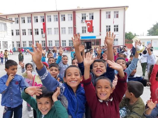 Akçakale'de okullar yeniden açıldı