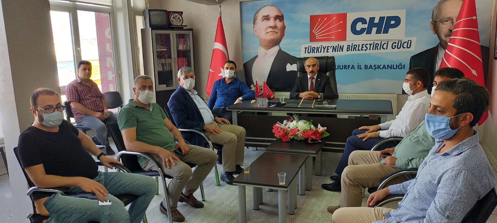 Gelecek Partisi İl Başkanlığından CHP'ye ziyaret!