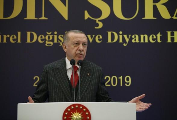 Erdoğan: Fay hatları daha da keskinleştiriliyor