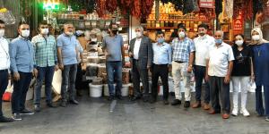 Gelecek Partisi Urfa'da Esnafa; Hak, Adalet ve Liyakat Sözü Verdi.