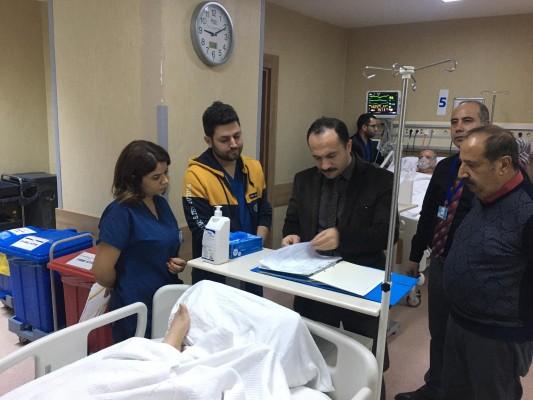 İl Sağlık Müdürü hastaneleri inceledi