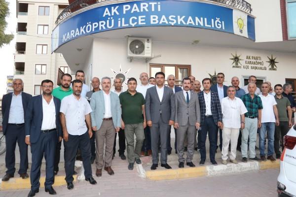 Karaköprü'de mahalle başkanları buluştu