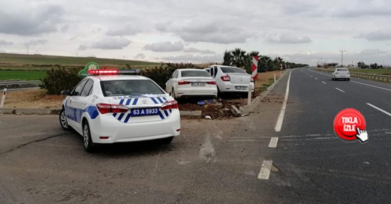 Mardin yolunda trafik kazası: 2 yaralı