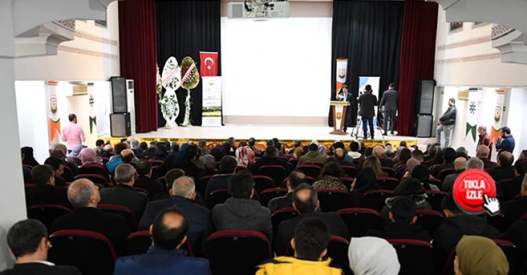 Mehmet Akif İnan, memleketi Urfa'da anıldı