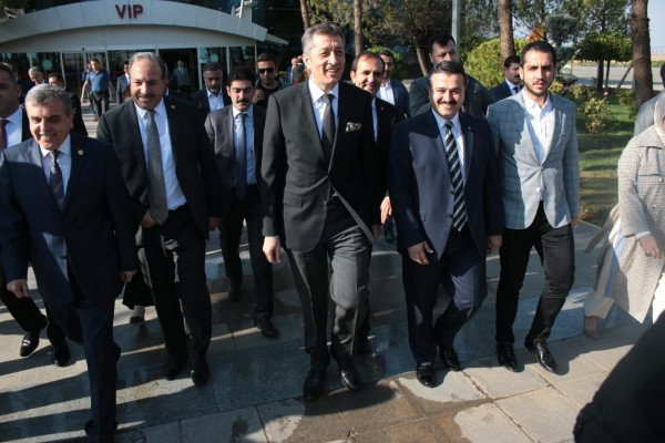Milli Eğitim Bakanı Şanlıurfa'ya geldi
