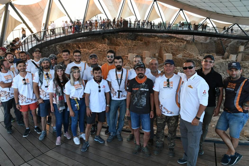 Ralliciler Göbeklitepe'ye hayran oldu