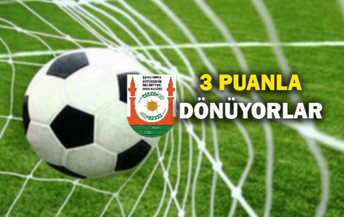 Şanlıurfa Büyükşehir Belediyespor'dan ilk maçında galibiyet