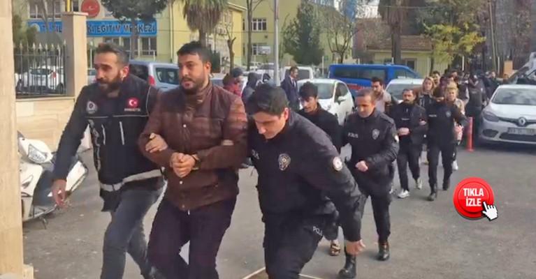 Şanlıurfa'da 15 sokak satıcısı tutuklandı