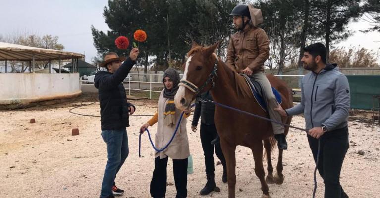 Şanlıurfa'da 'Atlı Terapi Antrenörlük Eğitimi' verildi