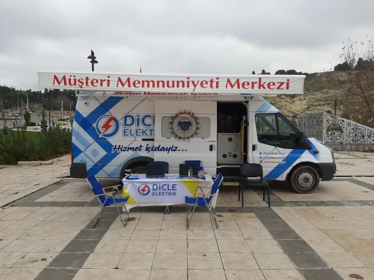 Şanlıurfa'da Mobil Müşteri Memnuniyeti Merkezine tepki