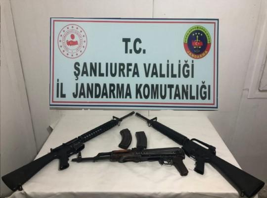 Şanlıurfa'da silah kaçakçılığı operasyonu!
