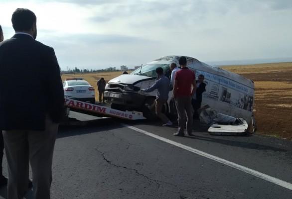 Şanlıurfa-Gaziantep karayolunda kaza: 1 yaralı
