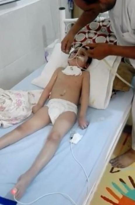 Suriyeli çocuğun tedavisi devam ediyor