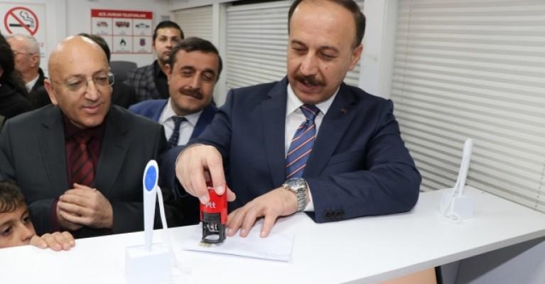 Tel Abyad'da PTT Şubesi açıldı